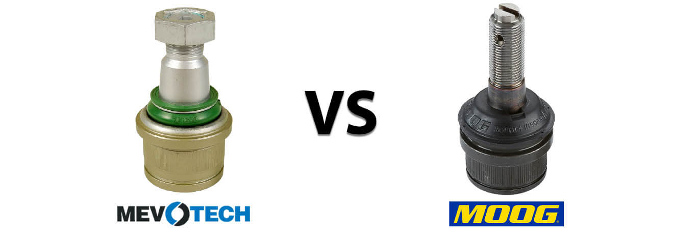 Mevotech vs Moog Comparison – Which Ball Joint Is Right for You?