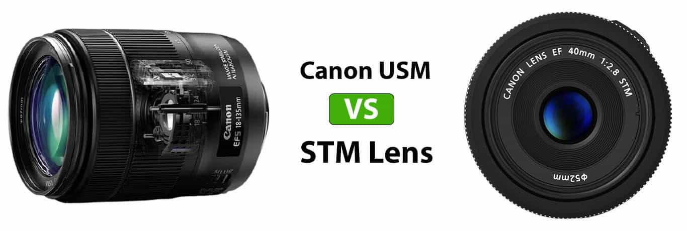 Canon USM vs STM Lens [2021] What is the Difference?