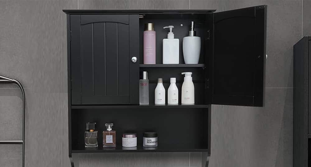 Best Black Wall Cabinet for Bathroom